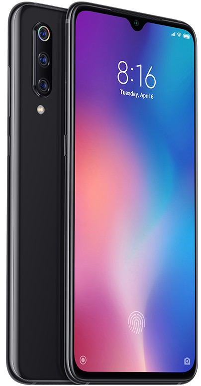 Android Mobilní telefon Xiaomi Mi 9 6GB/128GB, černá