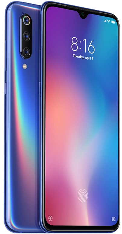 Android Mobilní telefon Xiaomi Mi 9 6GB/128GB, modrá