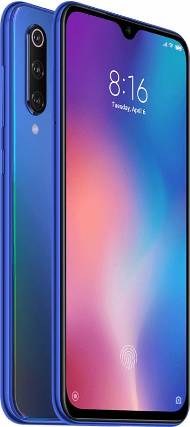 Android Mobilní telefon Xiaomi Mi 9 SE 6GB/128GB, modrá