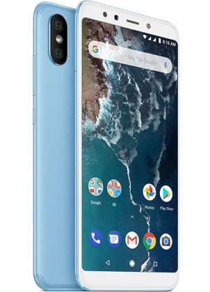 Android Mobilní telefon Xiaomi Mi A2 4GB/64GB, modrá