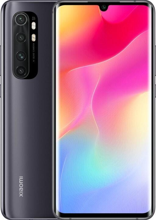 Android Mobilní telefon Xiaomi Mi Note 10 Lite 6GB/128GB, černá