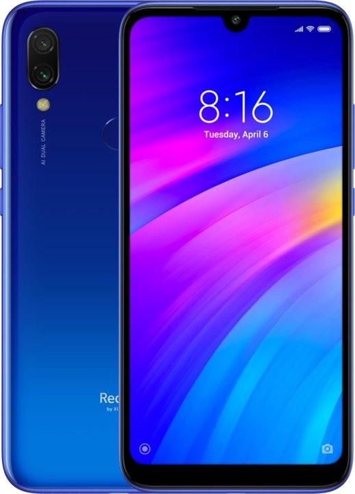 Android Mobilní telefon Xiaomi Redmi 7, 3GB/64GB, modrá