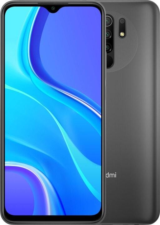 Android Mobilní telefon Xiaomi Redmi 9 3GB/32GB, šedá