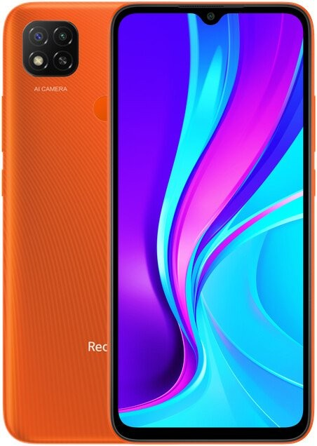 Android Mobilní telefon Xiaomi Redmi 9C 3GB/64GB, oranžová