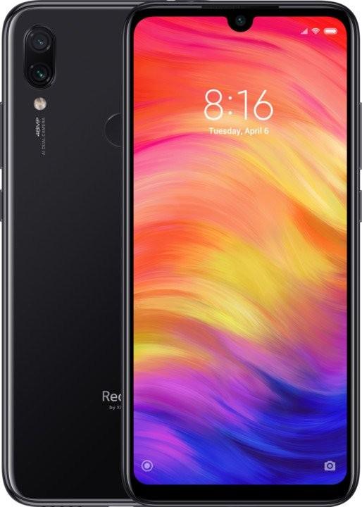 Android Mobilní telefon Xiaomi Redmi NOTE 7 4GB/64GB, černá