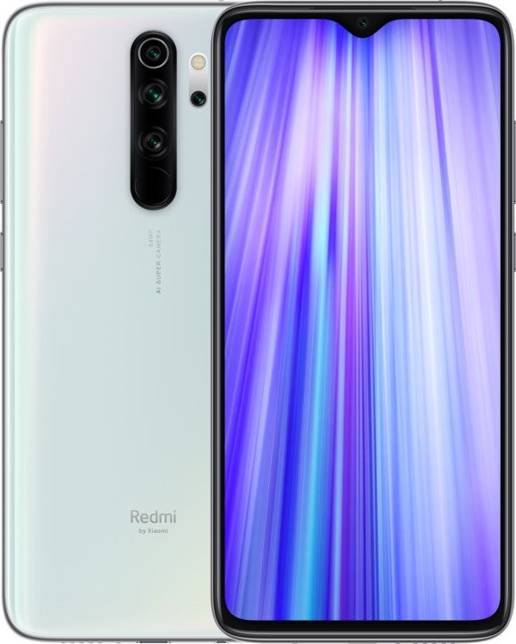 Android Mobilní telefon Xiaomi Redmi Note 8 Pro 6GB/128GB, bílá
