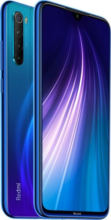 Android Mobilní telefon Xiaomi Redmi Note 8T 4GB/128GB, modrá