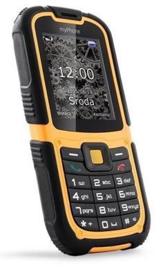 Android myPhone HAMMER 2, černá/oranžová