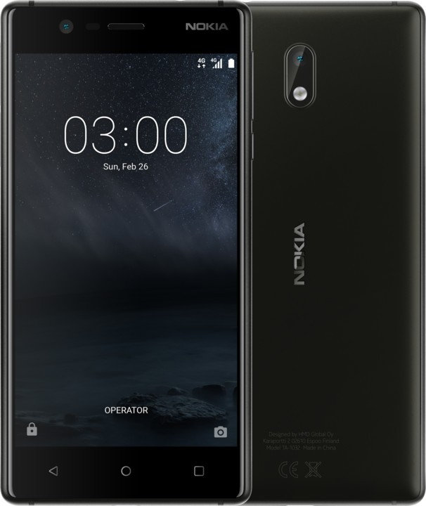 Android NOKIA 3 DS Black