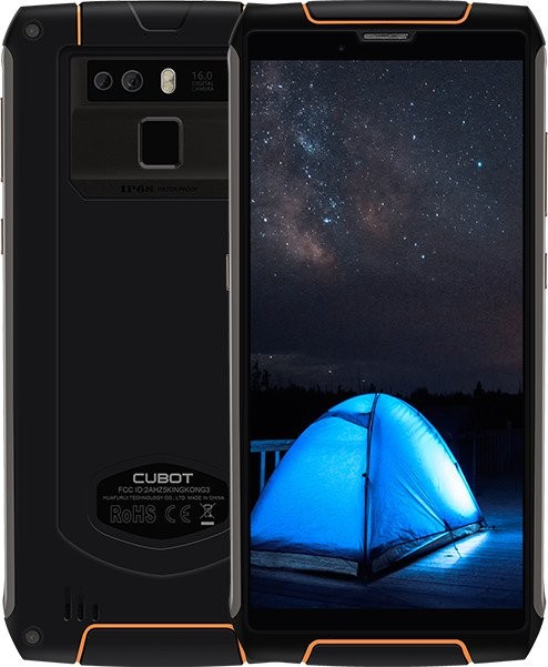 Android Odolný telefon Cubot KINGKONG 3 4GB/64GB, černá