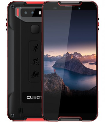 Android Odolný telefon Cubot Quest 4GB/64GB, červená