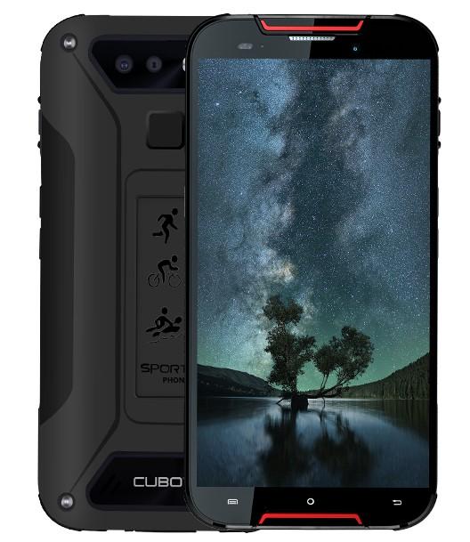 Android Odolný telefon Cubot Quest Lite 3GB/32GB, červená