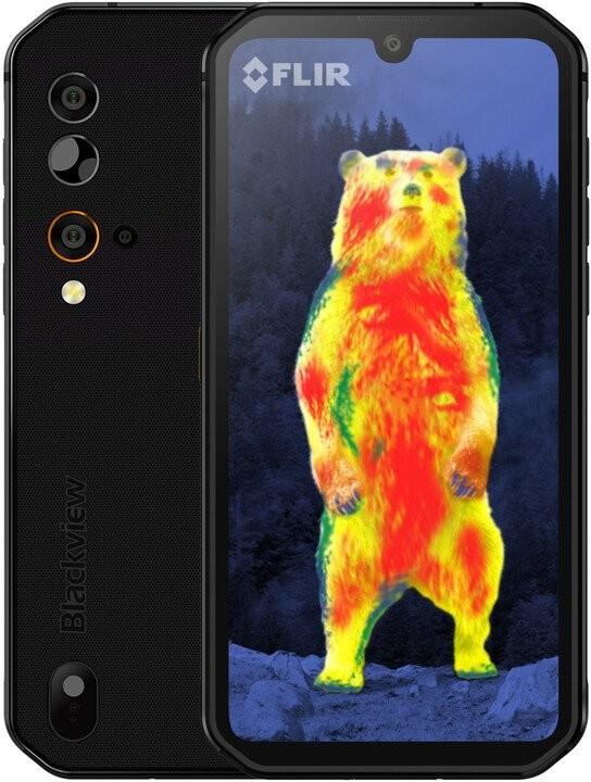 Android Odolný telefon iGET Blackview GBV9900 Pro Thermo 8GB/128GB,černá