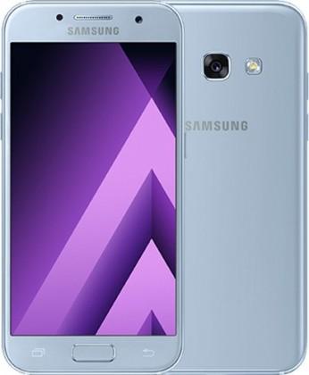 Android Samsung Galaxy A3 2017, modrá