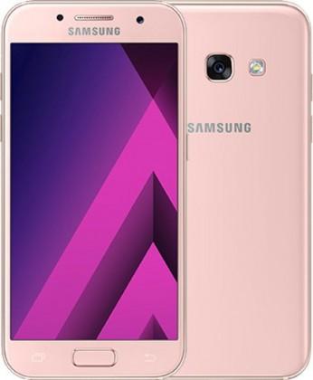 Android Samsung Galaxy A3 2017, růžová