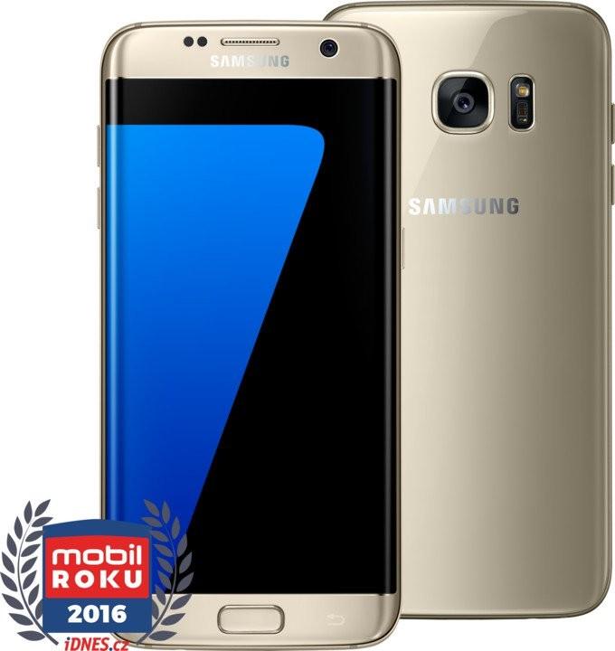 Android Samsung Galaxy S7 Edge G935F 32GB, zlatá