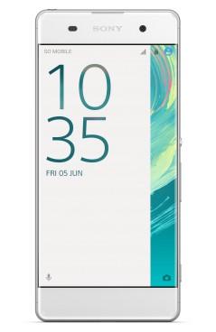 Android Sony Xperia XA, bílá