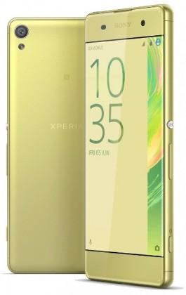 Android Sony Xperia XA, limetkově zlatá