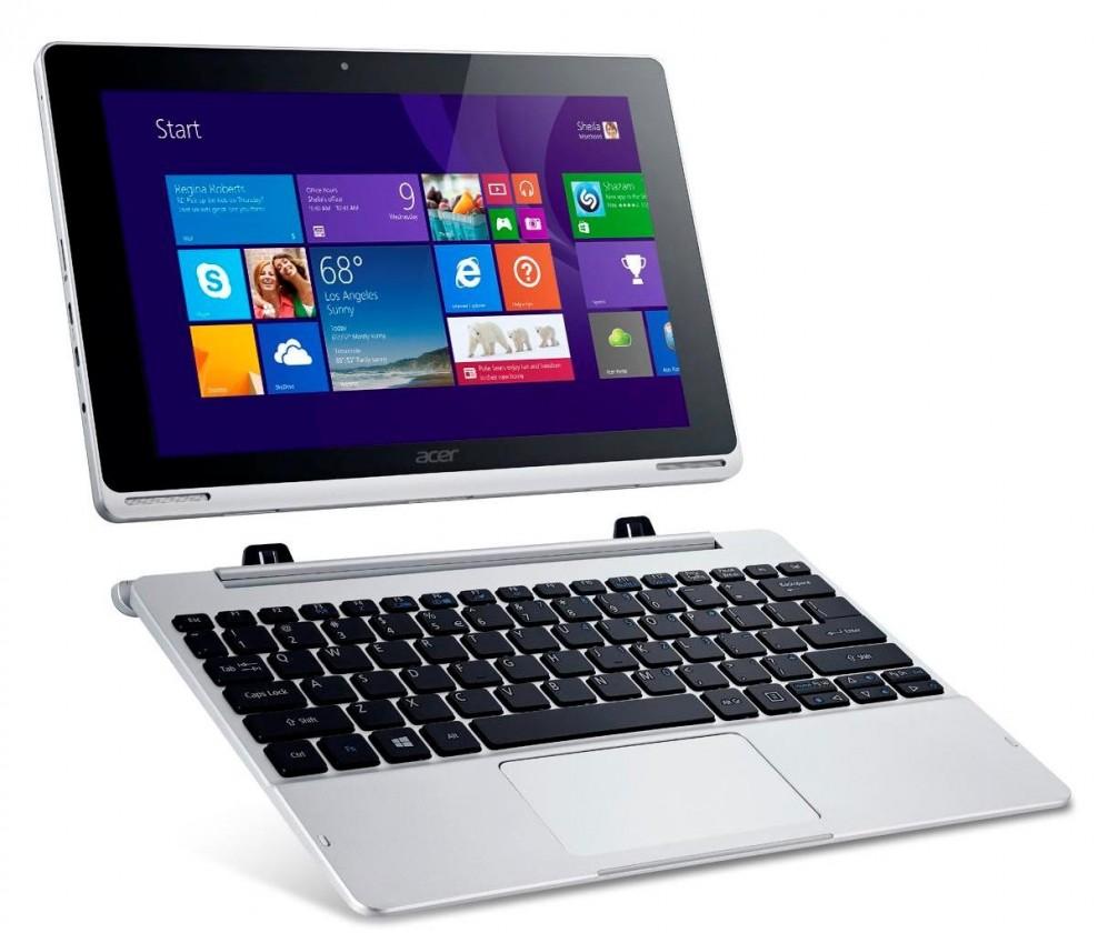 Android tablet Acer Aspire Switch 10 (NT.L4TEC.003) stříbrný