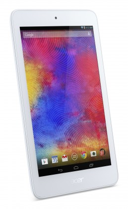 Android tablet Acer Iconia One 7 16GB bílý (NT.L85EE.006)