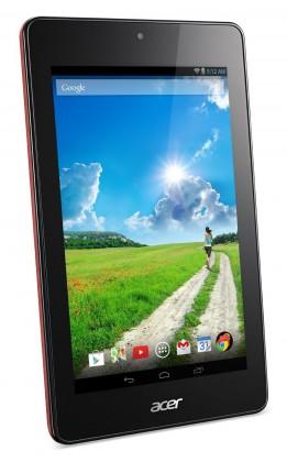Android tablet Acer Iconia One 7 16GB červený (NT.L4VEE.002)