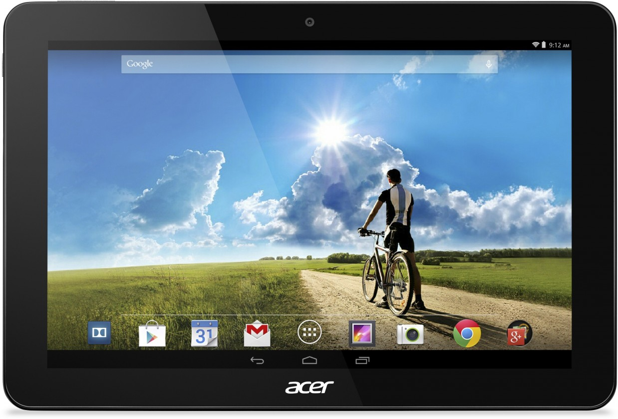 Android tablet Acer Iconia Tab 10 32GB Aluminium Black (NT.L5CEE.002)