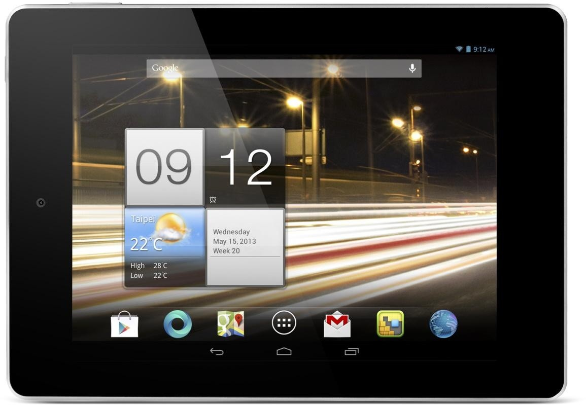 Android tablet Acer Iconia Tab A1-810 (NT.L2MEE.002) zlatý