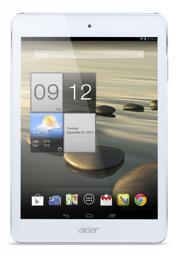 Android tablet Acer Iconia Tab A1-830 (NT.L3WEE.004) stříbrný