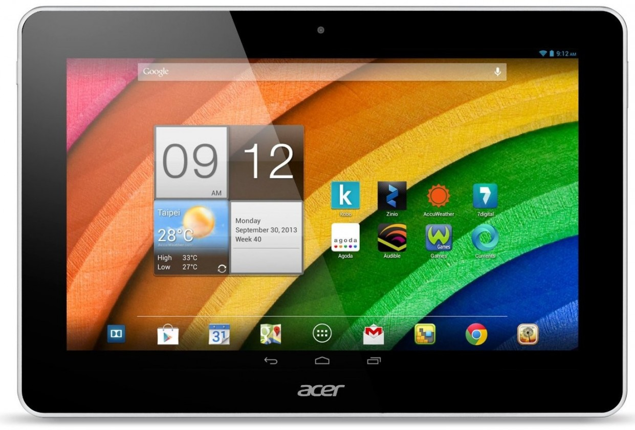 Android tablet Acer Iconia Tab A3-A10 (NT.L29EE.005) bílý