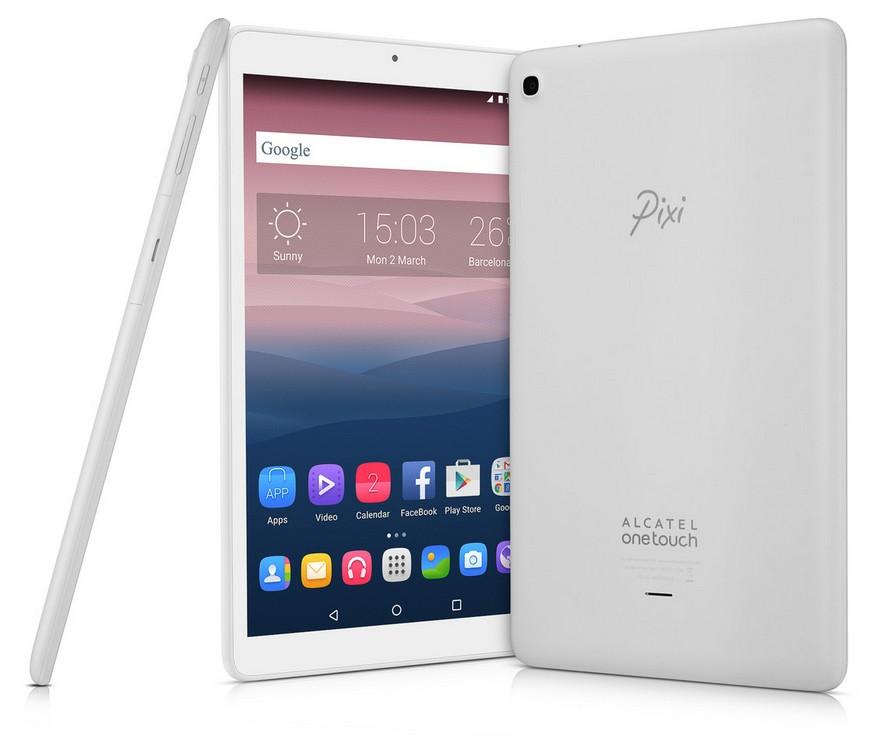 Android tablet Alcatel PIXI 3 (10) 8079-2BALCZ1, bílá