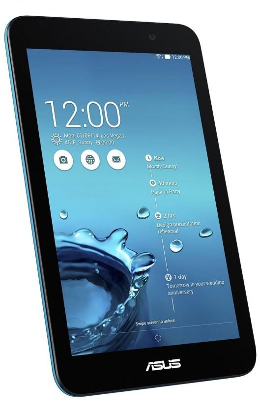 Android tablet ASUS MeMO Pad 7 ME176CX modrá ROZBALENO