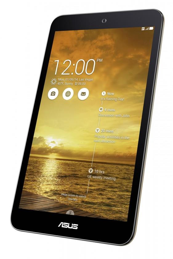 Android tablet ASUS MeMO Pad 8 ME181CX zlatý