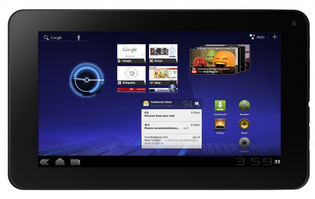Android tablet EVOLVEO Vision XD7 (VIO-XD7) černý