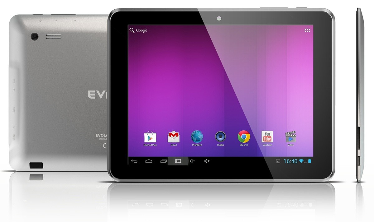 Android tablet EVOLVEO Vision XD8 (VIO-XD8) černý