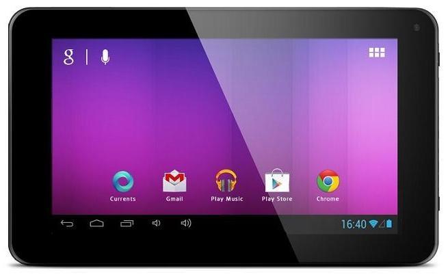 Android tablet EVOLVEO XtraTab 7 QC (XTB-7QC) černý ROZBALENO