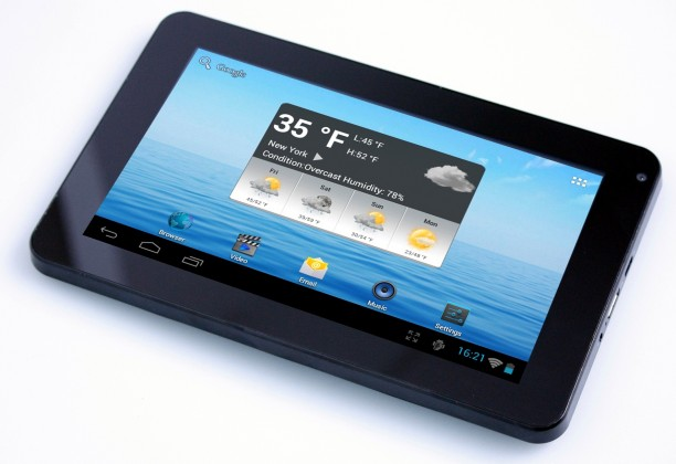 Android tablet Navon Platinum 7 (TABF61031) černý ROZBALENO