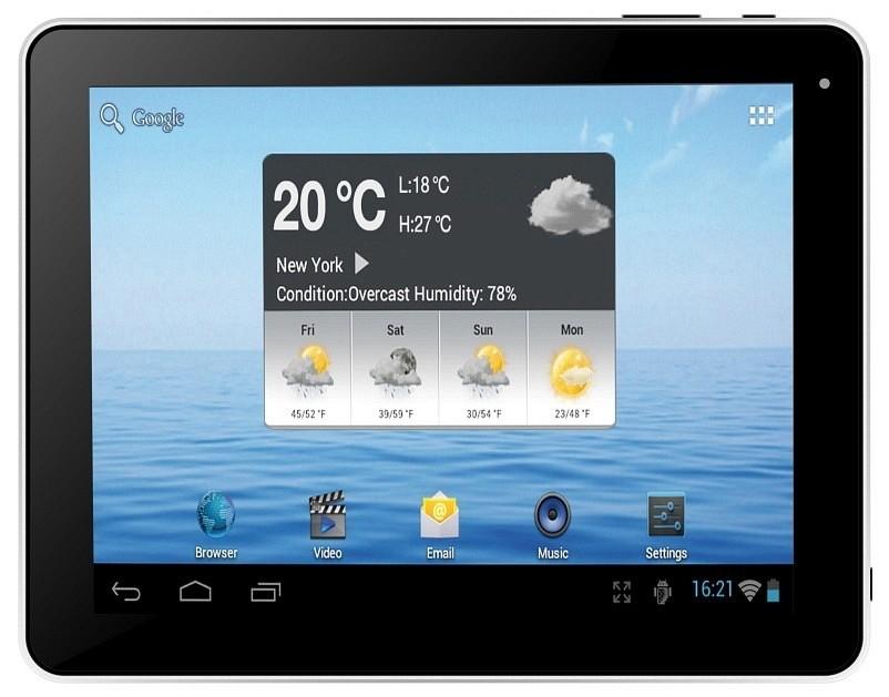 Android tablet Navon Raptor 10 (TABF63320) černý