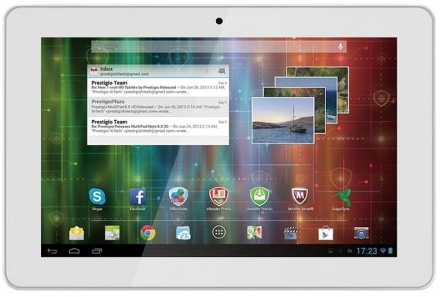 Android tablet Prestigio MultiPad 4 Quantum 10.1 3G (PMP5101C3G) bílý