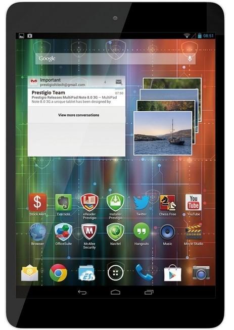 Android tablet Prestigio MultiPad 4 Quantum 7.85 3G (PMP5785C3G) černý