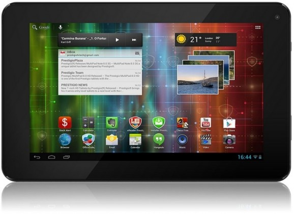 Android tablet Prestigio MultiPad 7.0 HD+ (PMP3870C) černý