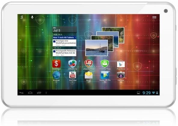 Android tablet Prestigio MultiPad 7.0 Ultra+ (PMP3670B) bílý