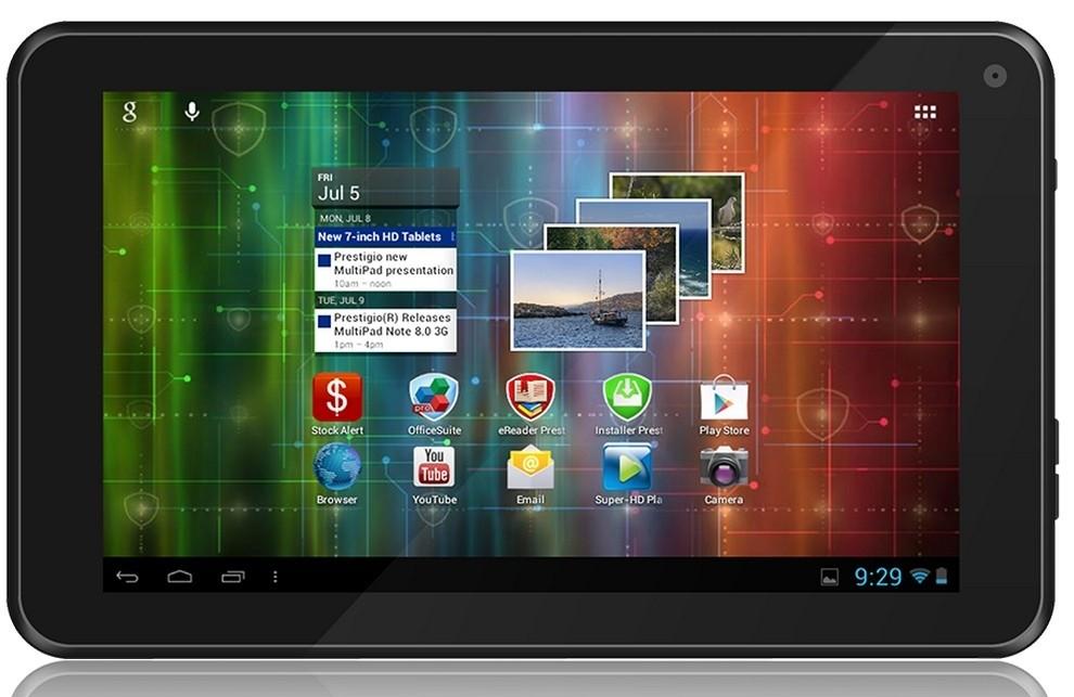 Android tablet Prestigio MultiPad 7.0 Ultra+ (PMP3670B) červený