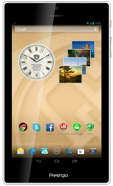 Android tablet Prestigio MultiPad Color 7.0 3G (PMT5777) zelený