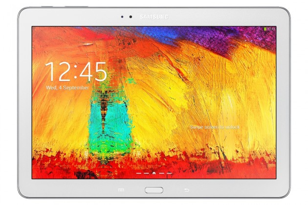 Android tablet Samsung Galaxy Note 10.1 (P600), bílý