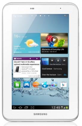 Android tablet Samsung Galaxy Tab 2 7.0 (P3100), bílý