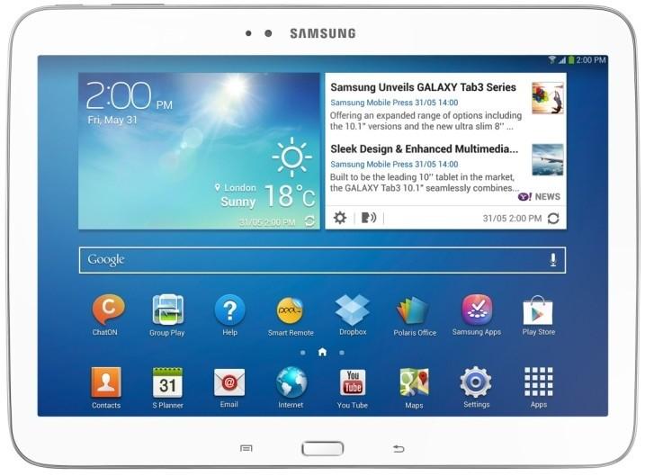 Android tablet Samsung Galaxy Tab 3 10.1 (P5210), bílý