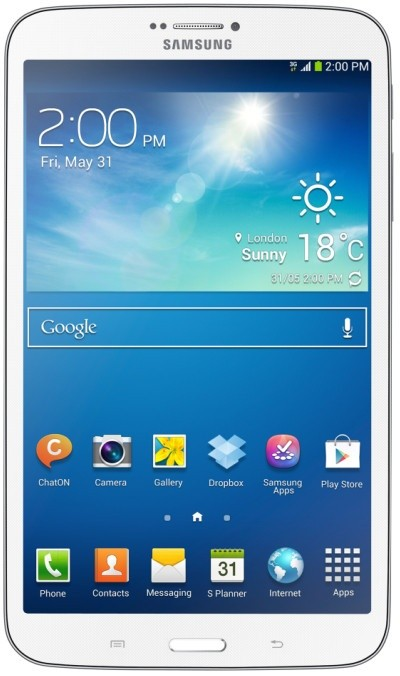 Android tablet Samsung Galaxy Tab 3 8.0 (SM-T3110), bílý