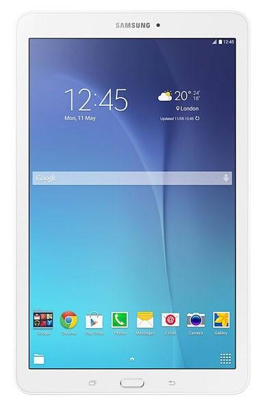 Android tablet Samsung Galaxy Tab E 9.6 SM-T560NZWAXEZ, bílá