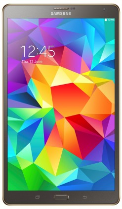 Android tablet Samsung Galaxy Tab S 8.4, 16GB, Wifi, titanium - (SM-T700NTSAXEZ)