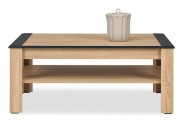 Anita - NA 11, Konferenční stolek (dub sonoma/bílá lesk, grafit)